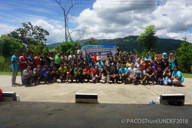 Gambar berkumpulan wakil peserta program MBOAS
