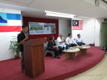 perkongsian dari komuniti Kg. Kiau