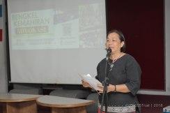 Ucapan pembukaan oleh Pengarah Eksekutif PACOS Trust Pn. Anne Lasimbang