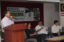 En. Justin Galansun berkongsi mengenai pengwujudan Majlis Orang-orang tua