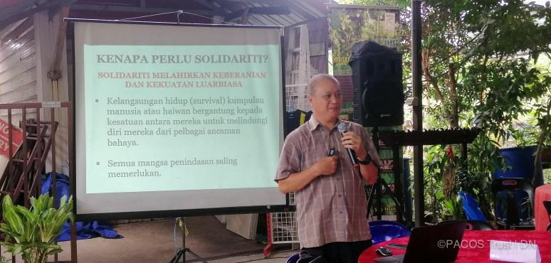 "Dr. Felix dengan motivasi ""Solidariti Dalam Perjuangan"""