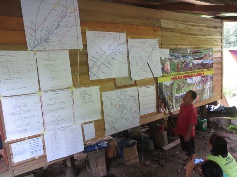 Traditional Territorial workshop in Pongobonon village